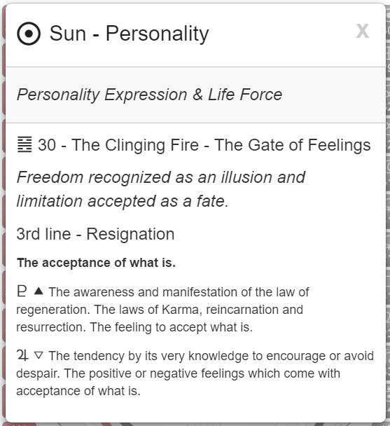 My Conscious Personality Core Essence. Rave   I-C  hing i  mage  via MyBodygraph.com