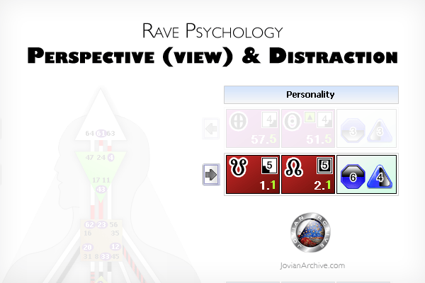 Rave Psychology Perspective in Human Design System image by  JovianArchive.com