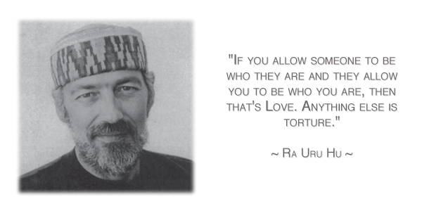 One of my favorite quotes of Ra.